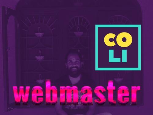 webmaster sitio web mantenimiento programador técnico diseño