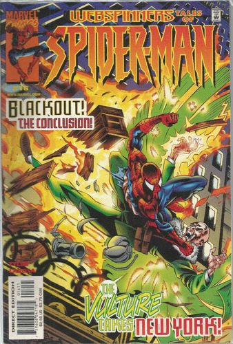 webspinners tales of spider-man 16 - bonellihq cx72 g19