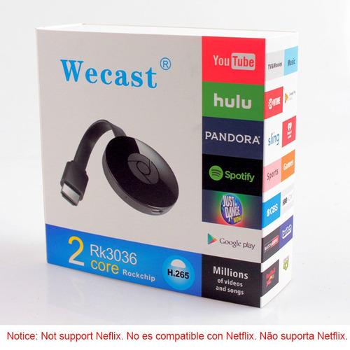 wecast 2 plus! rk3036 -- envio gratis -- pc tuning