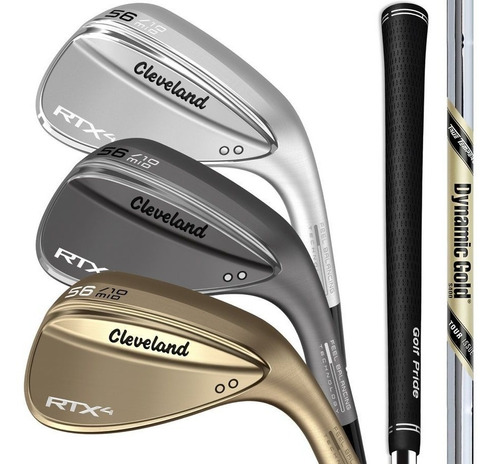 wedge golf cleveland rtx 4 60 tour raw