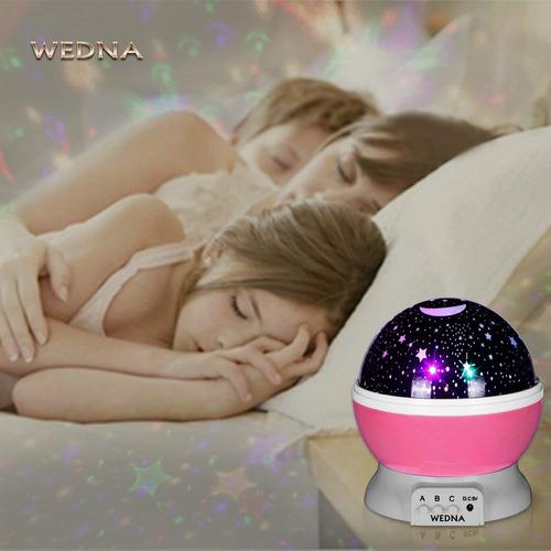 wedna galaxy night light lámpara para proyector star moon s