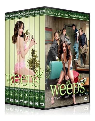 weeds coleccion en dvd + envio gratis