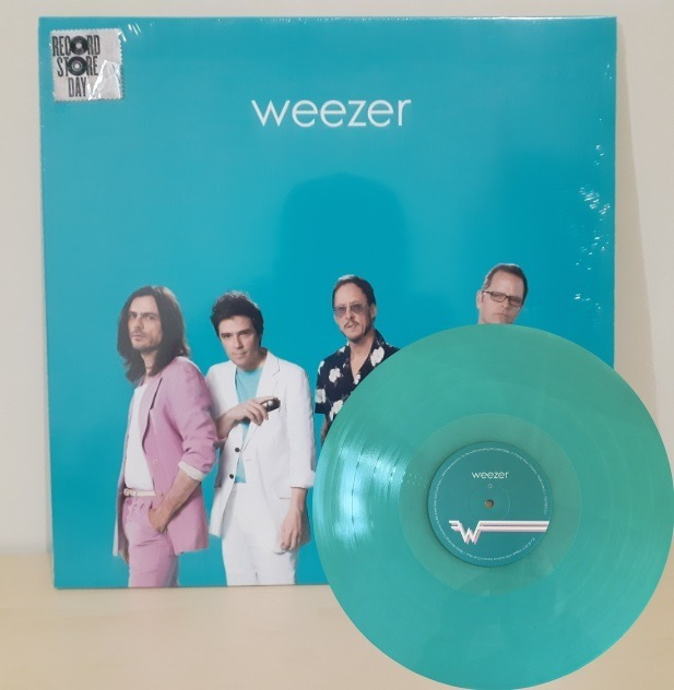 Weezer - Teal Album (80s) Lp Vinilo, Ed Verde Azul, Rsd 19