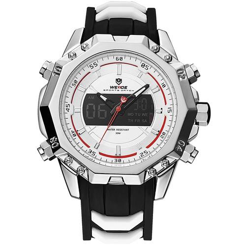 weide 6406 dual exibição relógio digital calendário alarme l