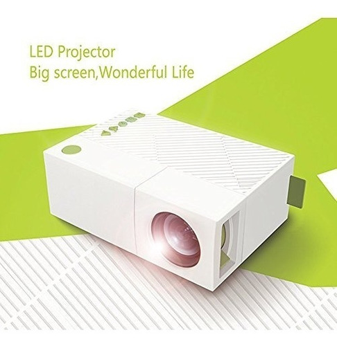 weiliante mini led proyector hd home theater vídeo proyector