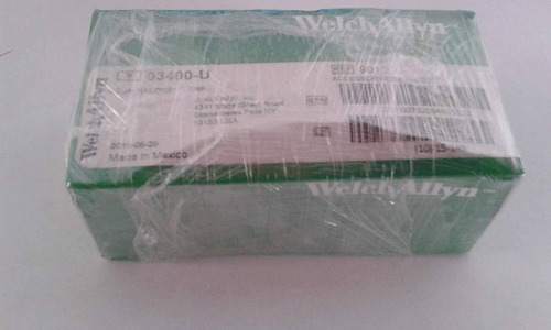 welchallyn 03400 original bombillo halogeno para otoscopio