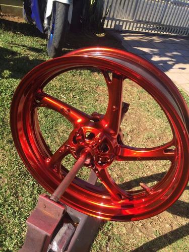 welckman cromo  500ml rodas moto carro acessórios norte