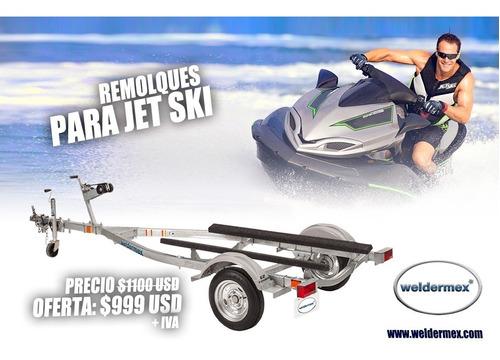 weldermex, remolque para jet ski