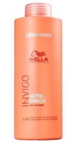 wella enrich - condicionador 1000ml