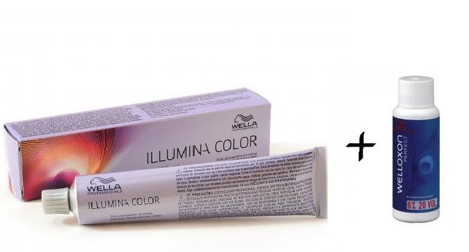 Wella illumina color louro acinzentado ox v r