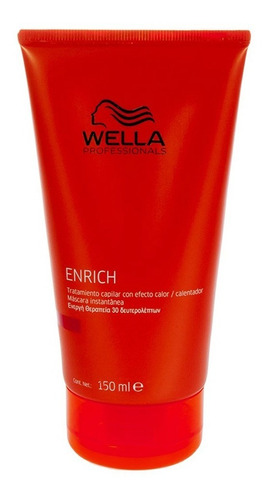 wella máscara enrich 150ml