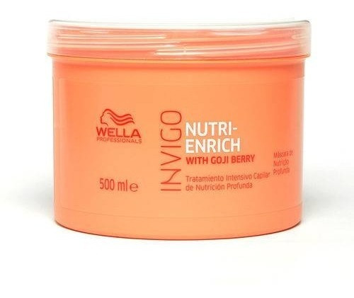 wella máscara nutrição enrich 500ml