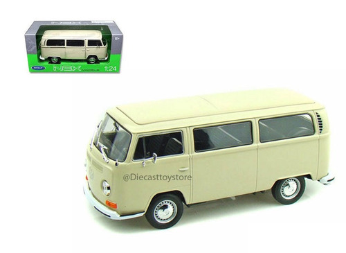 welly - 1972 volkswagen bus t2 - mexico combi esc.1:24