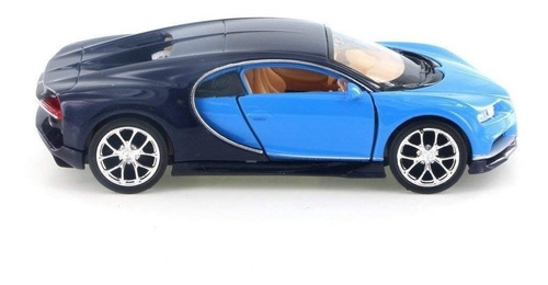 welly bugatti chiron 43738d - 4.5   diecast - escala