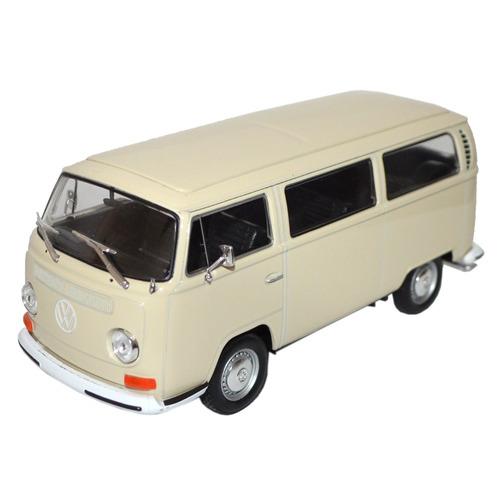 welly-carro miniatura 1:24 volkswagen kombi 1972 bus_t2 marf