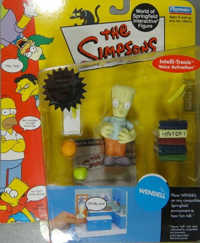 wendell - miniatura importada playmates - simpsons