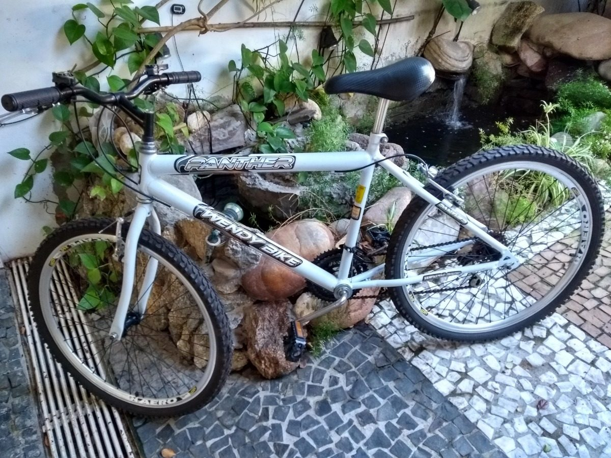 1ada85352c4eb Wendy Bike Panther Aro 26 18 V Bicicleta Semi-nova -trilha - R  350 ...