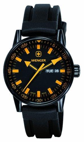 ca35844f0bec Wenger - Comando Día Fecha Negro Linea - - Relojes Hombres ...