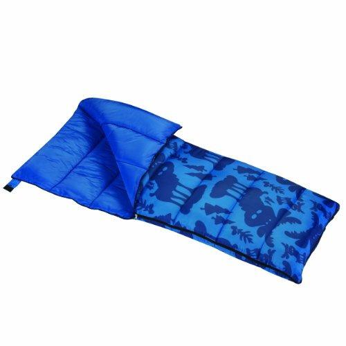 wenzel moose boys de 40 grados bolsa de dormir, azul