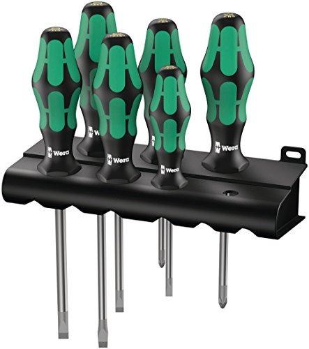 wera kraftform plus 334/6 destornilladores con cremallera y