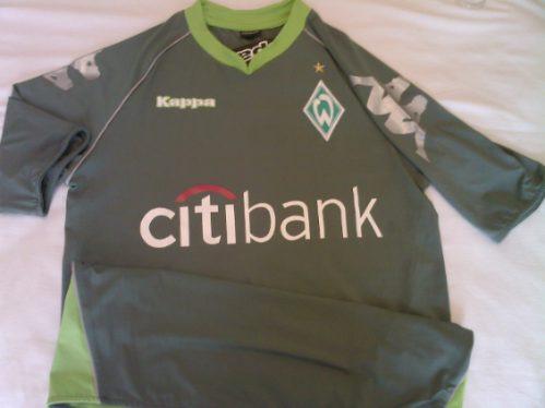 6af3da3a5e Rara Camisa Werder Bremen Alemanha Oficial Kappa Kombat - R  99