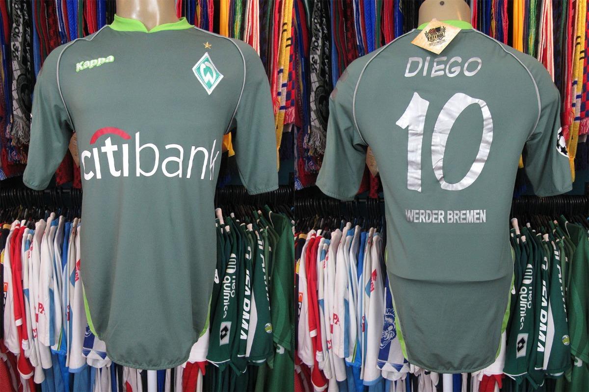 Werder Bremen 2007 Camisa Reserva Tamanho M Número 10 Diego. - R ... fb441f9f23ce2