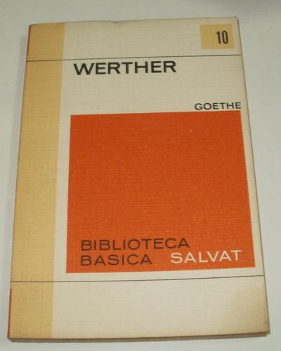 werther - goethe - salvat año 1970