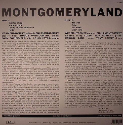 wes montgomery montgomeryland vinilo lp nuevo importado