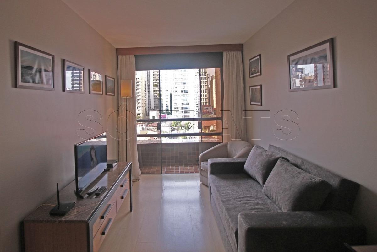 west side flat em pinheiros mobiliado (11) 3059-0846