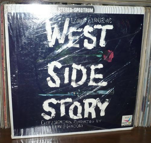 west side story lp cast orchestra dean franconi