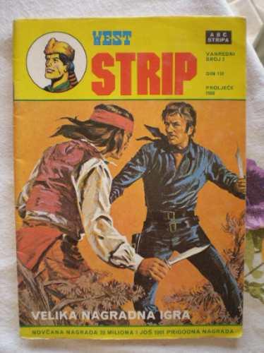 west strip 1986 - davy crockett - bósnia