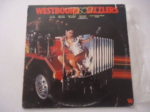 westbound disco sizzlers / varios artisats disco lp acetato