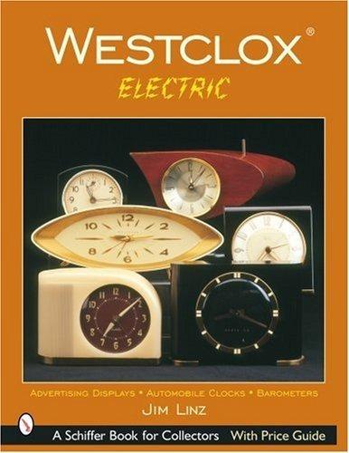 westclox: electrico (libro schiffer para coleccionistas)
