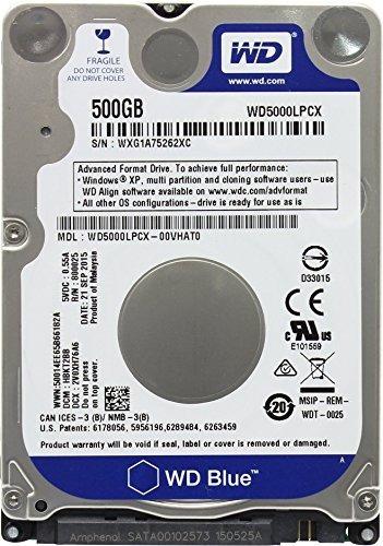 western digital disco duro de 500gb 2.5  playstation 3/play