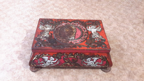 western germany caja d lamina antigua d coleccion clave 2710