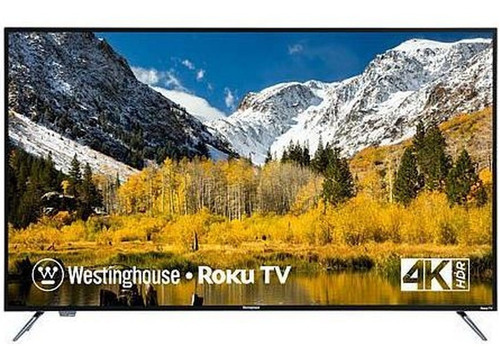 westinghouse 65´´ 4k uhd smart tv con roku incorporado 2019