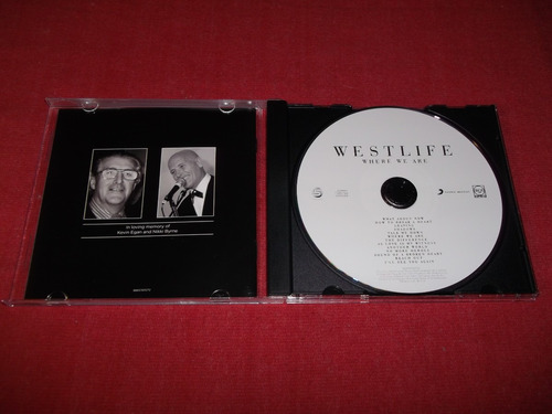 westlife - where we are cd nac ed 2009 mdisk