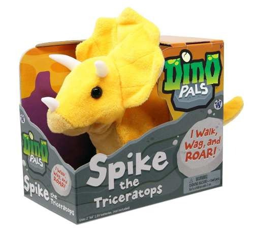 westminster dino pals spike el triceratops aaa