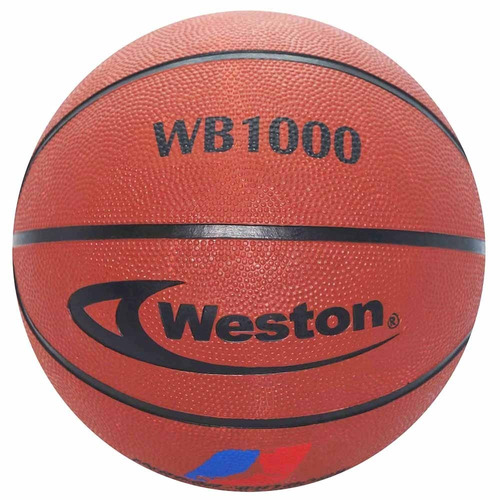 weston balón de basketball wb 1000-marrón