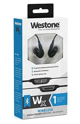 westone wx single driver true-fit auricular con cable