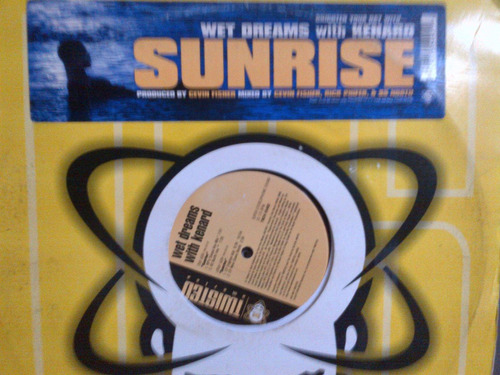 wet dreams with kenard - sunrise vinyl x2 musica electronica