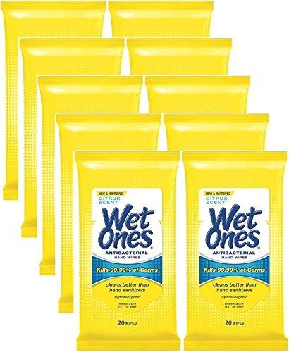wet ones - toallitas antibacteriales para