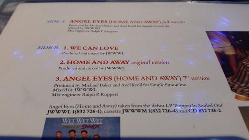 wet wet wet angel eyes (home and away) vinilo maxi uk