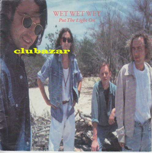 wet wet wet disco vinilo single 7 pulgadas 1991 alemania