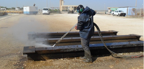 wetblasting / hydroblasting / sandblasting para la industria