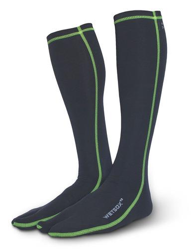 wetsox originales split toe wetsuit calcetines, entrar y sal