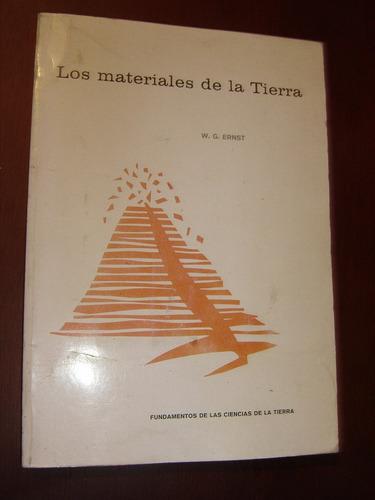 w.g. ernst, los materiales de la tierra.  omega 1976