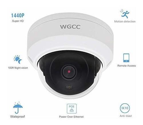 wgcc   cámara ip de 4 mp con pantalla de visión diurna y noc