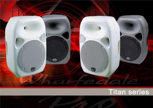 wharfedale pro titan12-pw bafle inyectado 1x12+driv-250w