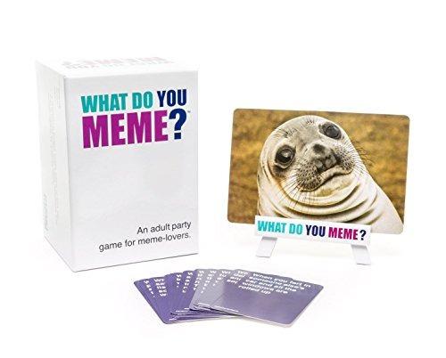 what do you meme? juego de fiesta para adultos